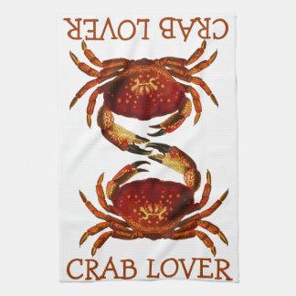Crab Lover Tea Towel