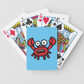 Crab Luigi Bicycle Playing Cards