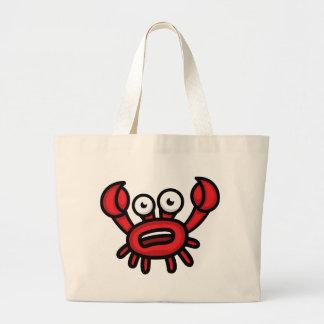Crab Luigi Large Tote Bag