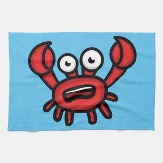 Crab Luigi Tea Towel