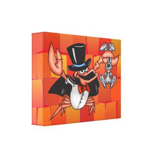 Crab Magician Gallery Wrap Canvas