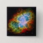 Crab Nebula 15 Cm Square Badge