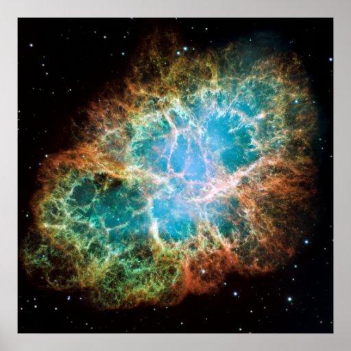 "Crab Nebula [24"" x 24"" Print]"