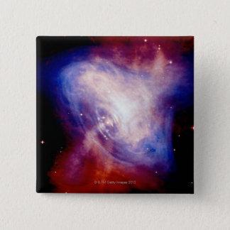 Crab Nebula 3 15 Cm Square Badge