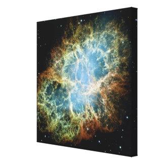 Crab Nebula 4 Canvas Print