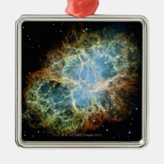 Crab Nebula 4 Christmas Ornament