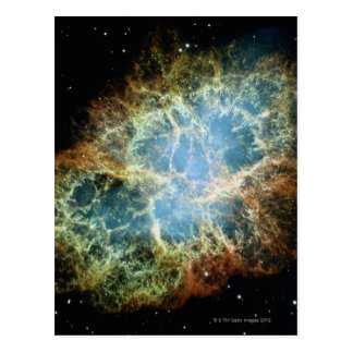 Crab Nebula 4 Postcard
