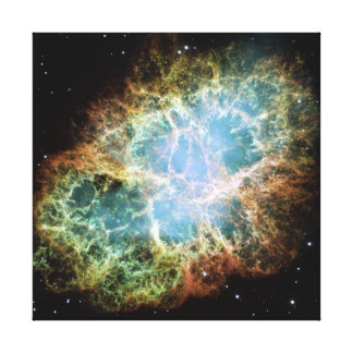 Crab Nebula Gallery Wrapped Canvas