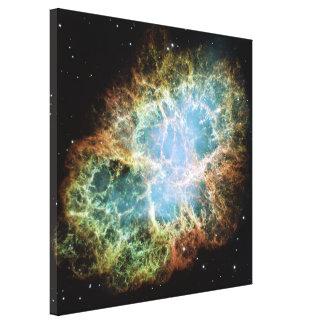 Crab Nebula Canvas Print