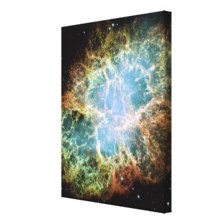 Crab Nebula Stretched Canvas Print