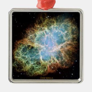 Crab Nebula Christmas Ornament