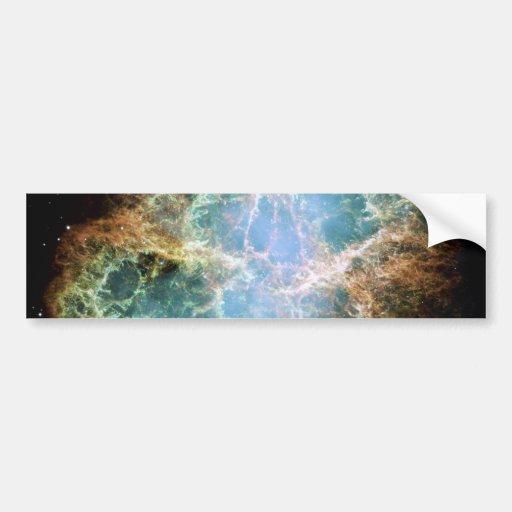 Crab Nebula Hubble Space Bumper Stickers