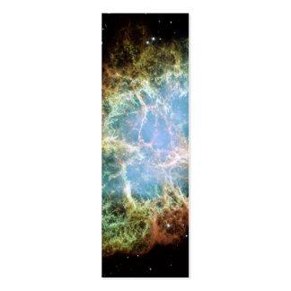 Crab Nebula – Hubble Telescope Business Cards