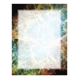Crab Nebula – Hubble Telescope Flyer
