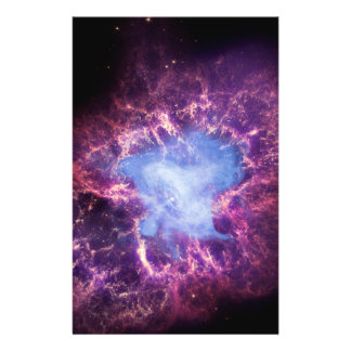 Crab Nebula NGC 1952 Personalized Flyer