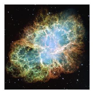 Crab Nebula Photo Art