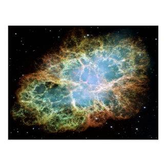 Crab Nebula Postcard