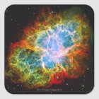 Crab Nebula Square Sticker