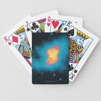 Crab Nebula Supernova Bicycle Playing Cards