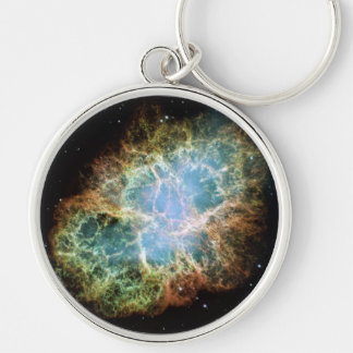 Crab Nebula Supernova NASA Key Ring
