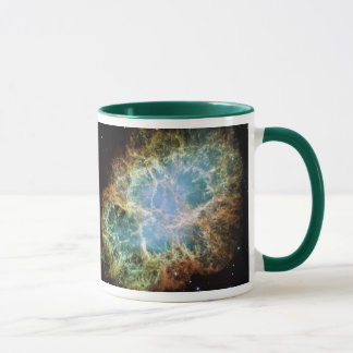 Crab Nebula Supernova NASA Mug