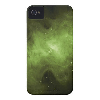 Crab Nebula, Supernova Remnant, Green Light iPhone 4 Covers