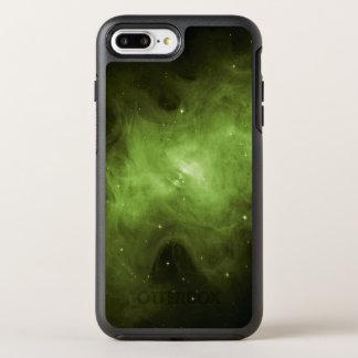 Crab Nebula, Supernova Remnant, Green Light OtterBox Symmetry iPhone 8 Plus/7 Plus Case