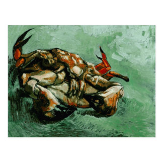 Crab on Its Back (F605) Van Gogh Fine Art Postcard