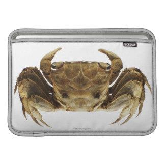 Crab on white background MacBook sleeve