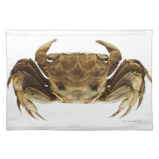 Crab on white background placemat