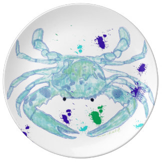 Crab plate