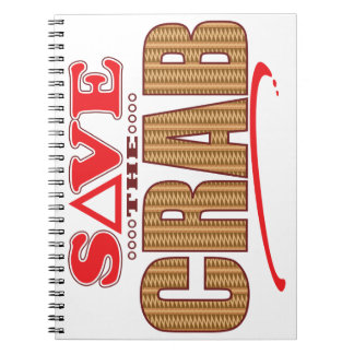 Crab Save Notebook