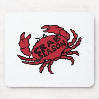 Crab Season Mouse Pads