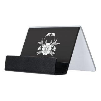 Crab-shaped cherry blossom (EDO) Desk Business Card Holder