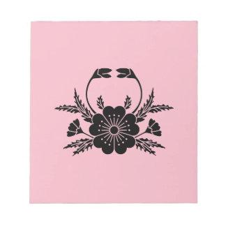 Crab-shaped cherry blossom (EDO) Notepad
