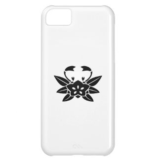 Crab-shaped gentian iPhone 5C case