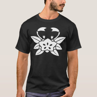 Crab-shaped gentian T-Shirt