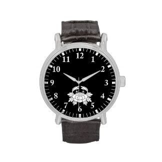 Crab-shaped peony watches