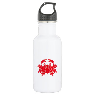 Crab-shaped peony 532 ml water bottle