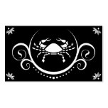 crab sophistications business cards