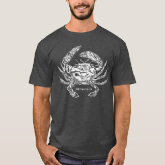 Crab T-Shirt with Text Option