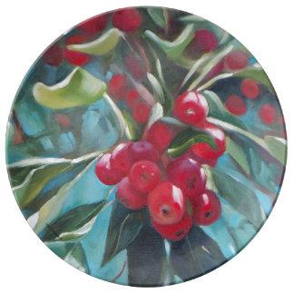 Crabapple Tree Plate