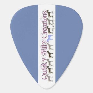 Crabapple Watercolor Guitar Pick