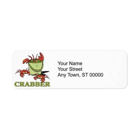 crabber bucket of crabby crabs