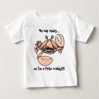 crabby!  Baby text! T-shirt