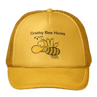 Crabby Bee Honey Mesh Hats