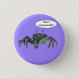 Crabby Crab button