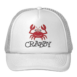 crabby crab gifts and apparel cap