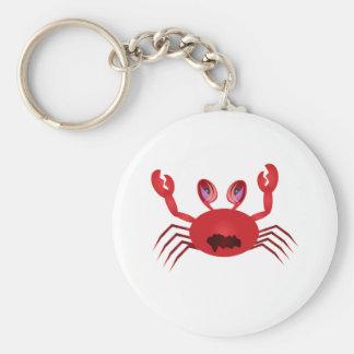 Crabby Crab Key Ring