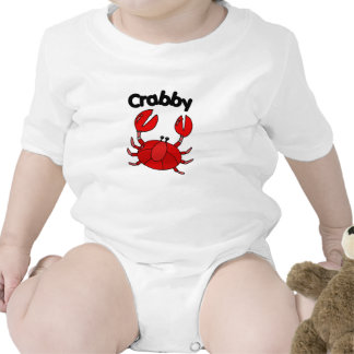Crabby Crab Rompers